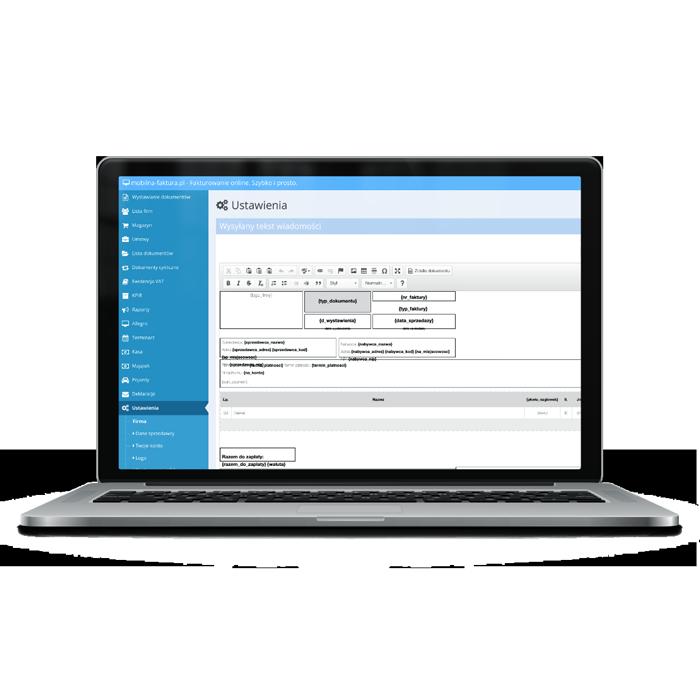 Zaletą systemu wystawiania faktur online